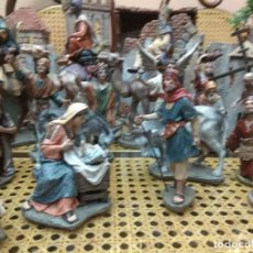 Figuras de Belén: LOTE 90 FIGURAS BELEN PESEBRE NACIMIENTO BELEN DEL PRADO EDICION COLECCIONISTAS JOSE LUIS MAYO. Lote 182523056