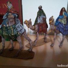 Figuras de Belén: *REYES MURCIANOS .18 CM. (R:268/D). Lote 186049168