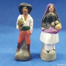 Figuras de Belén: LOTE 2 FIGURAS DE BELEN, MURCIA , AÑOS 1930-40. Lote 189358731