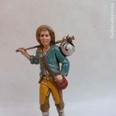 Figuras de Belén: PASTOR - FIGURA BELEN DE 10 CM. MORANDUZZO - ESCULTOR M. LANDI - NUEVO. Lote 189992367
