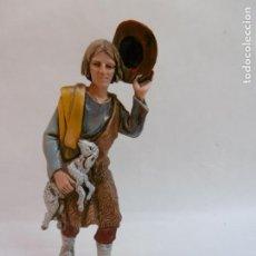 Figuras de Belén: PASTOR ADORANDO - FIGURA BELEN DE 10 CM. MORANDUZZO - ESCULTOR M. LANDI - NUEVO. Lote 189992461