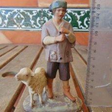 Statuine di Presepe: FIGURA DE BELEN O PESEBRE DE OLOT. Lote 190349980
