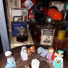 Figuras de Belén: BELEN ALBOROX 8 FIGURAS AÑOS 70. Lote 191295292