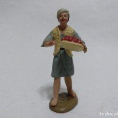 Figuras de Belén: BELÉN/NACIMIENTO/PESEBRE. PASTOR. MURCIA. BARRO.. Lote 191386053