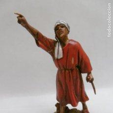Figuras de Belén: PAJE REAL - FIGURA BELEN DE 8 CM. MORANDUZZO - ESCULTOR M. LANDI - NUEVO. Lote 224798800