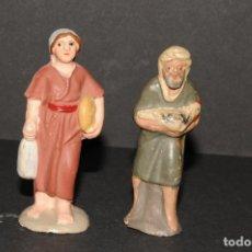Figuras de Belén: LOTE DE FIGURAS DE BELEN O PESSEBRE EN TERRACOTA. Lote 192799880