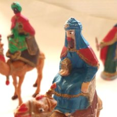 Figuras de Belén: REYES MAGOS Y HERODES PARA EL BELEN. Lote 192681893
