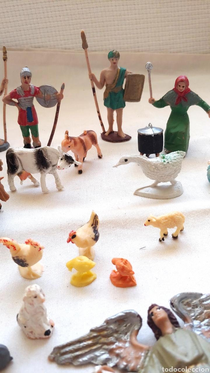 Figuras de Belén: 26 Figuras para el Belén en plástico duro - Foto 2 - 192681260