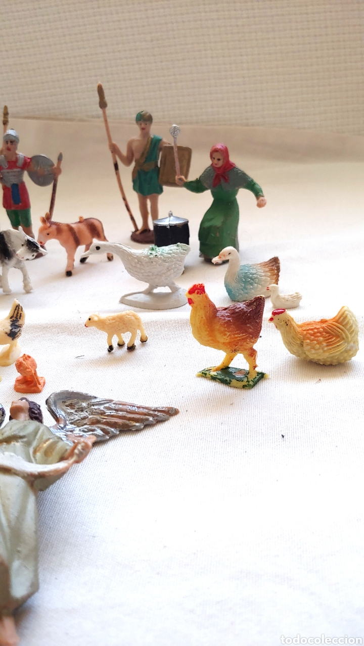 Figuras de Belén: 26 Figuras para el Belén en plástico duro - Foto 3 - 192681260