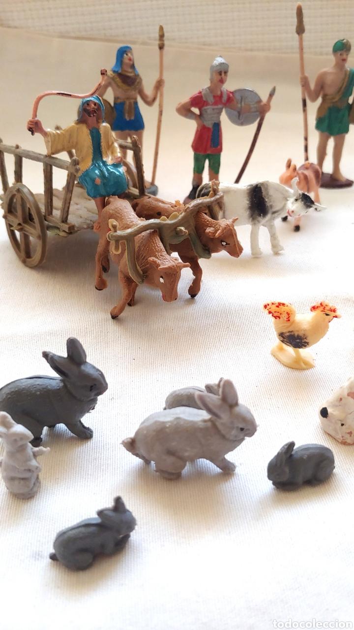 Figuras de Belén: 26 Figuras para el Belén en plástico duro - Foto 4 - 192681260