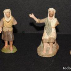Figuras de Belén: LOTE DE FIGURAS DE BELEN O PESSEBRE EN TERRACOTA - PERSONAJES. Lote 193819576