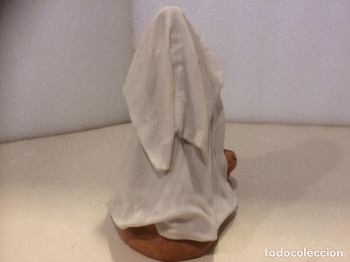 Figuras de Belén: Belen - Figura barro lienzado sin pintar - Foto 4 - 194395018