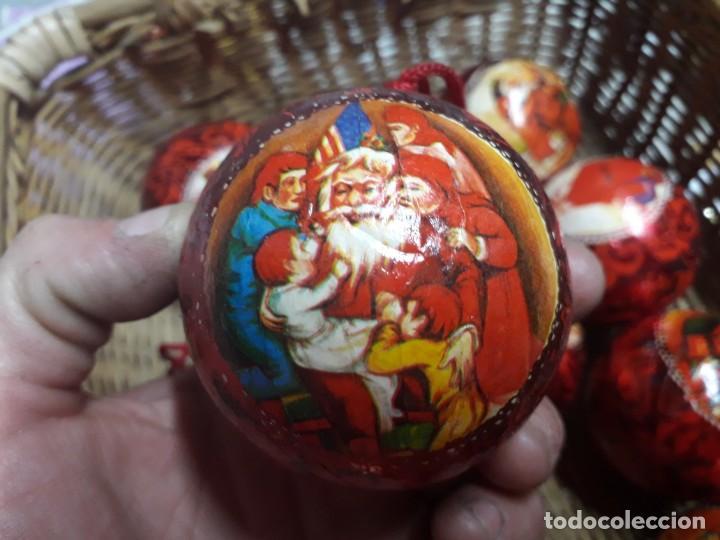Figuras de Belén: Lote de bolas de navidad - Foto 3 - 194491320