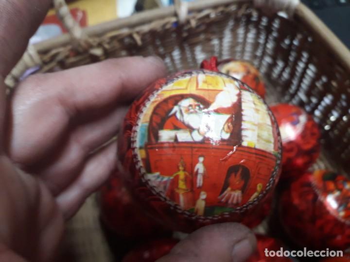 Figuras de Belén: Lote de bolas de navidad - Foto 4 - 194491320