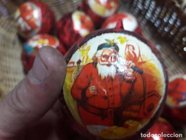 Figuras de Belén: Lote de bolas de navidad - Foto 7 - 194491320