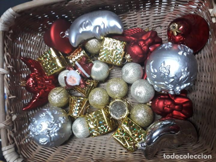Figuras de Belén: Lote de bolas de navidad - Foto 8 - 194491320