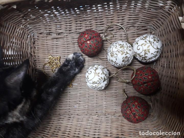 Figuras de Belén: Lote de bolas de navidad - Foto 11 - 194491320