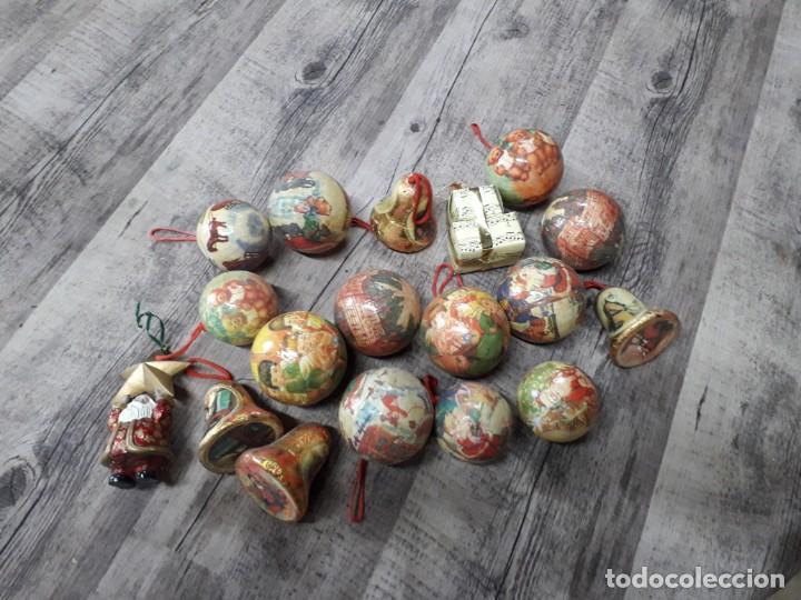 Figuras de Belén: Lote de bolas de navidad - Foto 13 - 194491320