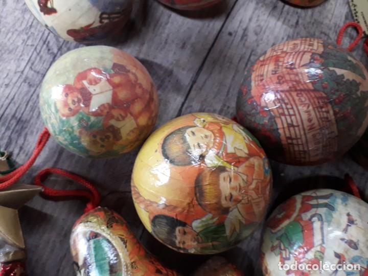 Figuras de Belén: Lote de bolas de navidad - Foto 15 - 194491320