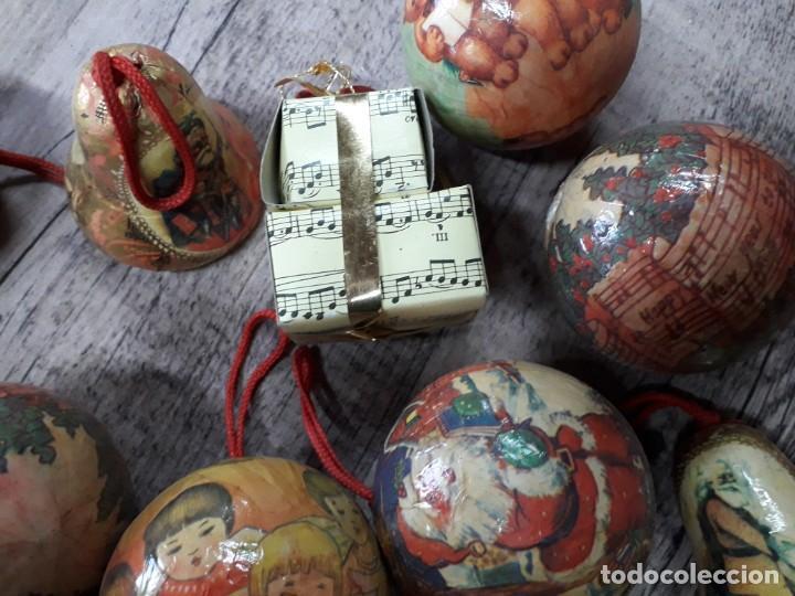 Figuras de Belén: Lote de bolas de navidad - Foto 17 - 194491320