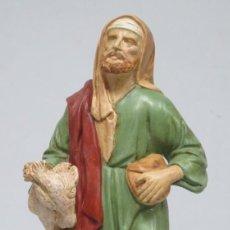 Figuras de Belén: VISTA DE MASIA. OLEO S/ LIENZO. ESCUELA CATALANA. HACIA 1890. Lote 194897206