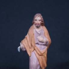 Figuras de Belén: SAN JOSE. FIGURA DE PESEBRE, BELEN .TERRACOTA O BARRO. Lote 195020858