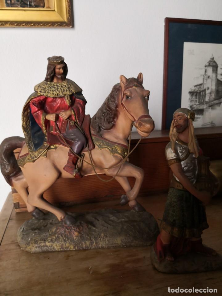 Figuras de Belén: FIGURAS DE BELÉN, PESEBRE, Cabalgata de Reyes Magos, de Olot - Foto 2 - 195198750