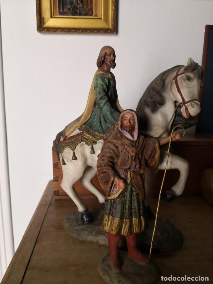 Figuras de Belén: FIGURAS DE BELÉN, PESEBRE, Cabalgata de Reyes Magos, de Olot - Foto 3 - 195198750