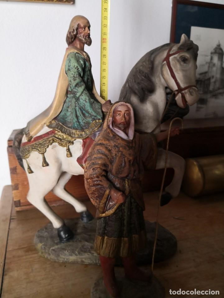 Figuras de Belén: FIGURAS DE BELÉN, PESEBRE, Cabalgata de Reyes Magos, de Olot - Foto 4 - 195198750