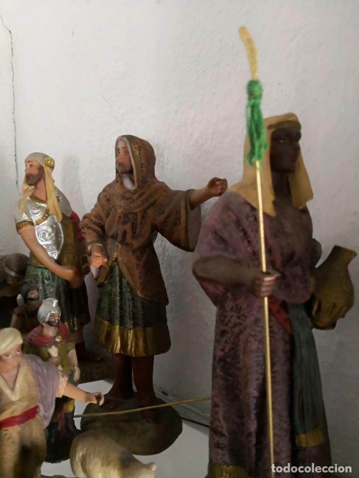 Figuras de Belén: FIGURAS DE BELÉN, PESEBRE, Cabalgata de Reyes Magos, de Olot - Foto 6 - 195198750