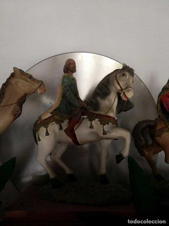 Figuras de Belén: FIGURAS DE BELÉN, PESEBRE, Cabalgata de Reyes Magos, de Olot - Foto 8 - 195198750