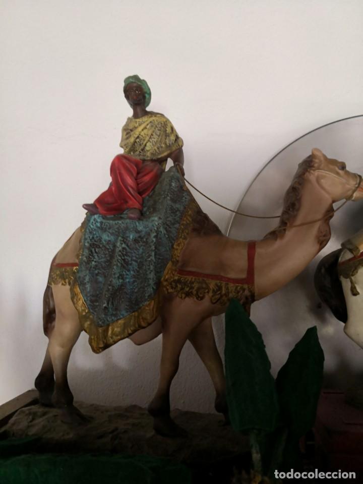 Figuras de Belén: FIGURAS DE BELÉN, PESEBRE, Cabalgata de Reyes Magos, de Olot - Foto 9 - 195198750