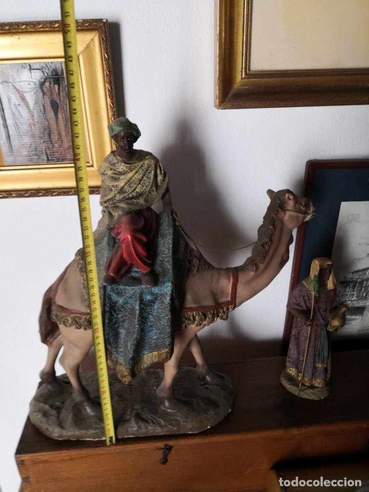 Figuras de Belén: FIGURAS DE BELÉN, PESEBRE, Cabalgata de Reyes Magos, de Olot - Foto 10 - 195198750