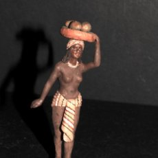 Figuras de Belén: EXTRAORDINARIA FIGURA DE BELEN O PESSEBRE EN TERRACOTA - FIRMADA DANIEL. Lote 195277531