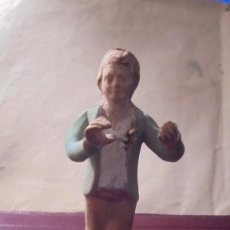 Figuras de Belén: (CAJ.1) ANTIGUA FIGURA DE BELEN CATALANA HOMBRE PRINCIPIO S.XX - 10 CM.. Lote 195303090