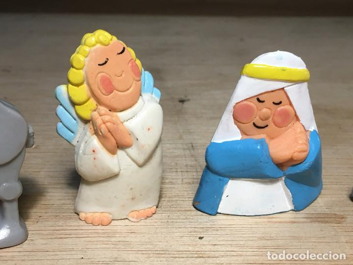 Figuras de Belén: 4 Figuras BELÉN Miniland S. TOYS Camello, Ángel, Mula y Virgen María. ver fotos - Foto 3 - 195324330