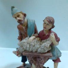 Figuras de Belén: PASTOR CARNICERO (1139). Lote 195379756