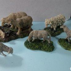 Figuras de Belén: LOTE DE 5 ANIMALES DE PESEBRE.. Lote 195526420