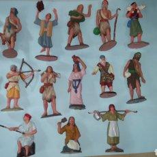 Figuras de Belén: LOTE DE 16 FIGURAS DE PESEBRE.. Lote 195526538