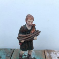 Figuras de Belén: FIGURAS BELÉN LEÑADOR 2 EN RESINA. Lote 195675756
