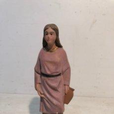 Figuras de Belén: FIGURA BELEN MUJER CON JARRA, SERIE 15 ARTE CRISTIANO OLOT.. Lote 196969562