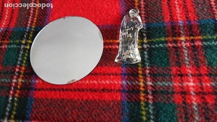 Figuras de Belén: Antiguo Belen de cristal. - Foto 3 - 197099926
