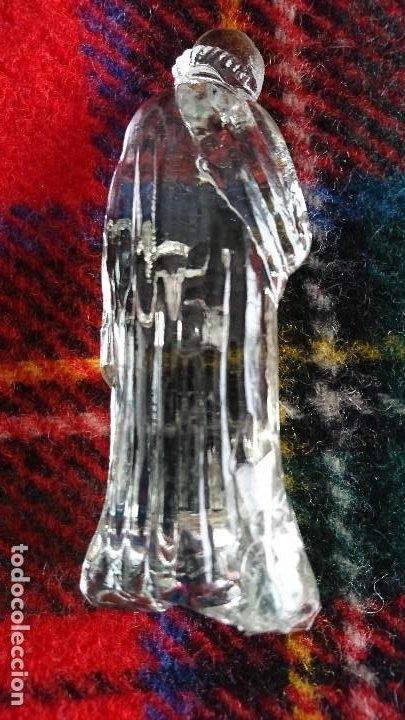 Figuras de Belén: Antiguo Belen de cristal. - Foto 5 - 197099926