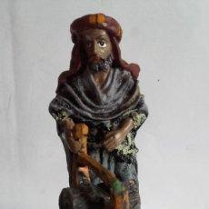 Figuras de Belén: LEÑADOR / FIGURA DE BELEN / MARMOLINA O RESINA. Lote 154570430