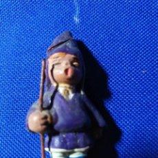 Statuine di Presepe: FIGURAS DE BELEN NAZARENO VESTIDO DE LILA. Lote 200314728