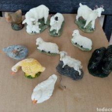 Figurines pour Crèches de Noël: FIGURAS DE BELÉN EN RESINA. Lote 203593208