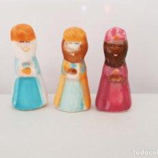 Figuras de Belén: REY MAGO, REYES MAGOS, ROSCO DE NAVIDAD 3 A 4MM. Lote 211576866