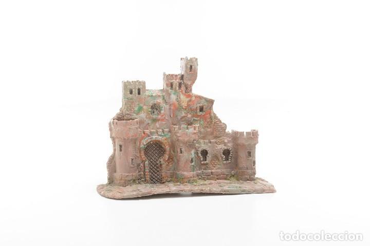 Figuras de Belén: Castillo antiguo de plástico, decoración pesebre, modelismo - Foto 2 - 214470341