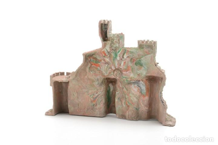 Figuras de Belén: Castillo antiguo de plástico, decoración pesebre, modelismo - Foto 4 - 214470341