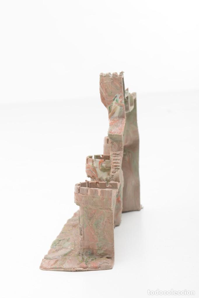 Figuras de Belén: Castillo antiguo de plástico, decoración pesebre, modelismo - Foto 5 - 214470341